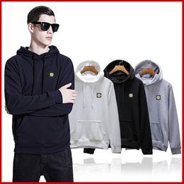 Wholesale Cotton Sportswear For Women - SI36 stone spring autumn new arrival mens women hoodies sweatshirt casual sportswear mens ISLAND coat hoody for men freeshipping