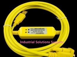 Wholesale Delta Plc Cable - New original Delta plc programming cable usbacab230 usb-dvp yellow second generation win7 100% tested perfect quality