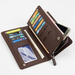 Wholesale Clutch Phone Cases - New PU Designer Mens Wallets Fashion Men Clutch Wallet Case Clutch Credit Cards Brands Bags Man's Business Wallets