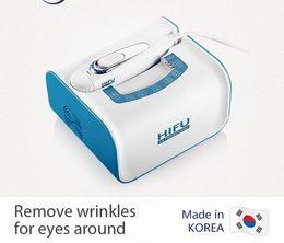 Wholesale Ultrasound Eye - Top quality Portable Anti Aging Wrinkle Removal Skin Tightening Facial Hifu Machine High Intensity Focused Ultrasound Hifu  DHL