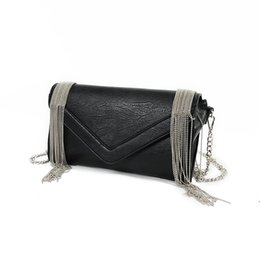 Wholesale Cover Pillows China - China wholesale PU Leather black chain Free shipping hot sell Wholesale retail 2017 new sale bags handbags shoulder bags messenger