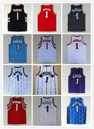 Wholesale Mixed Basketball Jersey - Hot Sale 1 Tracy McGrady Throwback Cheap McGrady Vintage Basketball Jerseys Retro Stitching Mix Order