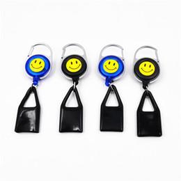 Wholesale Wholesale Retractable Leashes - Wholesale Premium Lighter Leash Clips Retractable Keychain Lighter Holder (Blue Black)