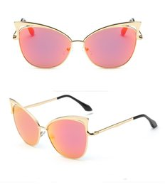 Wholesale Trend Sunglasses For Women - 2017 New arrival sunglasses for women Personality fashion sunglasses ladies trend cat eye sunglasses free shipping