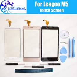 Wholesale- LEAGOO M5 Touch Screen Digitizer 100% Guarantee Original Digitizer Glass Panel Touch Replacement For LEAGOO M5+tools+ Adhesive от Поставщики экран leagoo