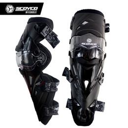 Wholesale Motorcycle Elbow Protector - 5 Colors Scoyco Brand New K12 Motorcycle Knee Protector Motocross Racing Knees Guard Pads
