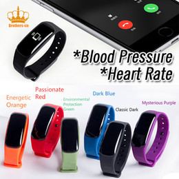 Wholesale Oximeter Ratings - Smart Wrist Band M8 Heart rate Blood Pressure Blood Oxygen Oximeter measurement Pedometer Calorie Sport Bracelet For iOS Android
