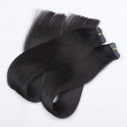 """Wholesale Gray Hair Clips - Wholesale 20"""" 100% Human hair 8A 140g 1# Clips & 400s keratin hair with color 2# 60 &160pcs tape with 60# Gray#"""