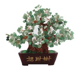 Wholesale Household Items Gifts - Creative gifts of natural yellow crystal tree handicraft decorative household items furnishing articles