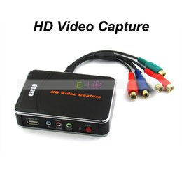 Wholesale Hd One - HD Video Capture EZCAP 1080P Game Capture HDMI YPbPr Recorder Box into USB Disk with Edit Software for XBOX One 360 For PS3