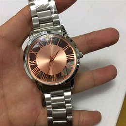 Wholesale Lady Wristwatch Stainless Steel - Wholesale 2016 New Fashion Luxury Design Women Watch Stainless Steel Quartz Watch For Ladies Femme Montre Clock Relojes De Marca Wristwatch