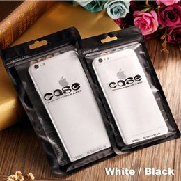 Wholesale Retail Cell Phone Cases Bags - Zip lock bags Best Quality Zipper Retail Packing Bags For Cell Phone Iphone Case Plastic Clear Package Bag Hang Hole Packaging Pouches bags