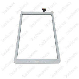 Argentina 20PCS Tablet PC Pantalla táctil Lente de cristal digitalizador con cinta para Samsung Galaxy Tab E T560 libre de DHL supplier touch screen for samsung tab Suministro