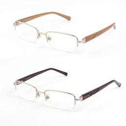 Wholesale Eyeglass Hinges - Flex Hinge Elegant Wholesale Metal Square Women Eyeglasses Female Myopia Prescription Crystal Optical Eye Glasses Spectacles M2017B0349D35