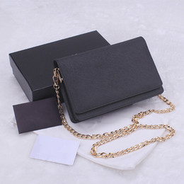 Wholesale Luxury classic women s handbags fashion design cross pattern cowhide leather chain bags samll wallet colors