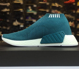 Wholesale Wine Boots - NMD R2 Shadow Noise Running Shoes for Men Women NMD City Sock CS2 Blue Knitting Sneakers Sports Sale Hiking Boots Wine Red