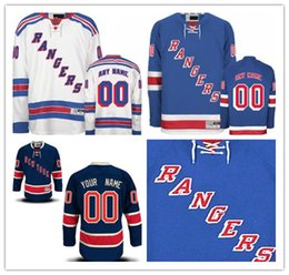 ce0f4d71e Custom New York Rangers Mens Womens Youth Navy Blue Third White Home  Personalized Any Name Any Number Stitched Hockey Jerseys S-4XL discount  personalized ...