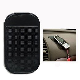 Wholesale Magic Pad Slip Mat - Supreme Gel Pad Strong Sticky Anti Slip Mat Non Slip Car Dashboard Wall Sticker Pad Mat Powerful Silica Magic Car Mobile Phone Holder