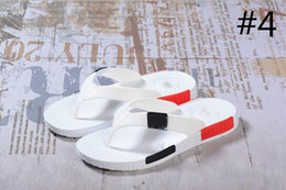 Wholesale Hot Men Flip Flops - 2017 free shipping NMD new summer shoes slippers male flip-flop men's men beach slippers hot sale