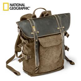 Wholesale Ng Camera - Wholesale- Free shipping New National Geographic NG A5280 Africa Series Small Backpack camera bag case