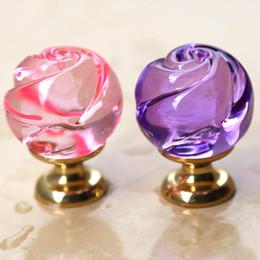 Boutons En Cristal De Cabinet En Or Distributeurs En Gros En Ligne