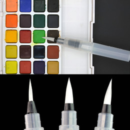 Wholesale Painting Tool Box - Wholesale-Water Brush Watercolor Art Paint Painting Tool Self Moistening Calligraphy Pen