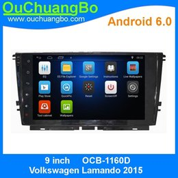 Wholesale Multi Media Dvd Player - Ouchuangbo car dvd multi media radioandroid 6.0 for Volkswagen Lamando 2015 with gps navi bluetooth SWC EQ 4*45 Watts amplifier.