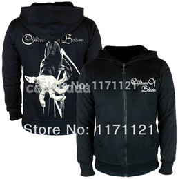 Wholesale Children Hoodies Sweat - Wholesale- Free shipping Children Of Bodom - Grim Reaper Sherpa - NUCLEAR BLAST NEW SWEAT HOODIE