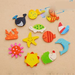 Wholesale Wholesale Magnets For Refrigerator - Wholesale- 1 pc new baby products good quality baby safety Cartoon Magnet protector for refrigerator