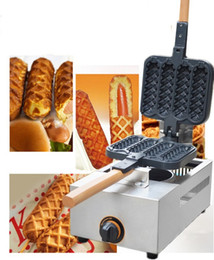 Wholesale Corn Sticks - Well-selling Commercial Gas Corn Dog Maker Waffle Stick Maker in Stock LLFA