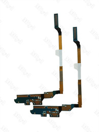 Wholesale S4 Docks - New Orginal For Samsung Galaxy S4 i9505 I337 M919 USB Charger Charging Connector Dock Port Flex Cable