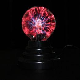 "Wholesale Globe Sphere - Wholesale- 3"" USB Plasma Ball Sphere Light Magic Crystal Lamp Desktop Globe Laptop Wholesale"
