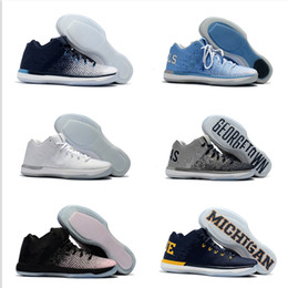 Wholesale Retro Low Flats Shoes - New Arrival Retro XXXI Low California Michigan George 31s Basketball Shoes Retro 31 Training Sports Sneakers Size 7-12