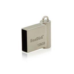 Wholesale usb stick mini - HanDisk 100% Real capacity Sliver Concise Mini Metallic USB Flash Drive 32gb 64gb 128gb 16gb 8gb 4gb 2gb Usb Stick EU092