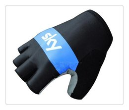 Wholesale Team Edition - Tactical Gloves M 2xl Rushed Real Tour of France Teams Edition Sky Bicycle Cycling Guantes Ciclismo Mtb Half Finger Racing