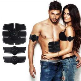 estimulador muscular eléctrico Rebajas NUEVO Recargable Estimulador Muscular Eléctrico EMS Cuerpo Adelgazante Máquina de Belleza Músculo Ejercitador Electro Body Toning Massager