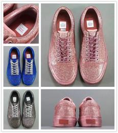 Wholesale Diamond Shoes Flash - 2017 New arrive revenge x OC STORM Kanye Low-Top Adult Women Canvas Shoes Flash diamond Skateboarding Shoes Casual Shoes Sneaker Size 36-40