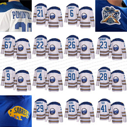 Wholesale Black Jack Player - 2018 winter classic buffalo sabres 15 jack eiche 67 benoit pouliot 9 evander kane 29 jason pominville 90 ryan o'reilly white player jersey