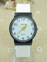 Wholesale Designing Brand Logo - Good quality Top Brand Men's Woman girl unisex waterproof soft Silicone strap Quartz S design watch With logo
