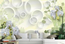 3D mural обои пользовательские обои для стен 3 d Clivia цветы фото настенная роспись для гостиной от
