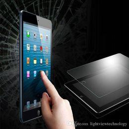 tableta de vidrio pc Rebajas Tablet PC Protector de pantalla de cristal templado para iPad Mini5 iPad2 iPad Air3 Air 2 iPad Pro 9.7 Paquete al por menor 0.3mm 9H