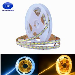 Wholesale Led Long Wire - New Arrival 2835 SMD 240leds m DC12V Led Flexible Strip 5m Long White PCB Non-Waterproof IP20 for Indoor Christmas Decoration