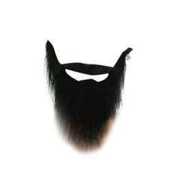 Wholesale Masquerade New Years Masks - Gorgeous False beard Moustache props Masquerade Halloween New Year Christmas Party mask decoration boda
