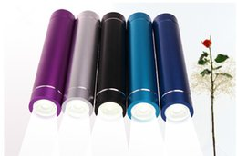 Wholesale Bright Banking - Bright light LED Power Bank Portable 2600mAh Cylinder PowerBank External Backup Battery Charger Emergency Power Pack Chargers for Mobile Ph