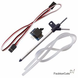 Wholesale Wholesale Model Airplanes - Wholesale- Ardupilot Arduplane Pitot Air Speed Meter   Airspeed Gauge Tube for APM 2.5   2.6 APM2.6 Flight Controller for RC Model Airplane