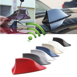 Wholesale Shark Antennas - Car Radio Shark Fin Car Shark Antenna Signal Newest Design High Quality Universal For All Cars Aerials Antenna Car Styling