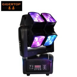 Wholesale Ultimate Blue - Discount Price TP-L677 90W Led Moving Head Spider Light 8pcs 10W Red Green Blue White Cree Dual Tilt Arm Ultimate Rotate CE ROHS
