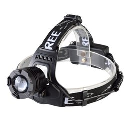 Wholesale Led Headlamp Rechargeable Cree Zoom - ALONEFIRE HP79 CREE XM-L T6 LED 2000Lumens Rechargeable Zoom led Headlight XML-T6 High Light Lamp Headlamp+Box Free Shipping