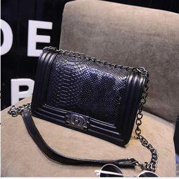 Wholesale Promotional Leather - Brand Fashion Chain Shoulder Bag Promotional Ladies luxury PU Leather Handbag Crossbody Bag Famous Messenger Bags