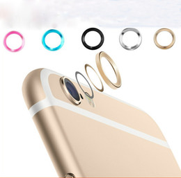 Wholesale Iphone Circle Case - New Arrival! Fashional Rear Camera Glass Guard Circle Lens Protective Case Cover Ring for Apple iphone 6   6 plus